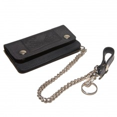 Doom Sayers Snake Shake Chain Wallet - Black