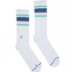 Stance Hideout Socks - White