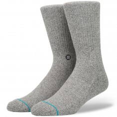 Stance Icon Socks - Grey Heather