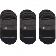 Stance Gamut 3 Pack Socks - Black