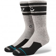 Stance Smiley Socks - Grey