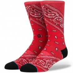 Stance Barrio 2 Socks - Red