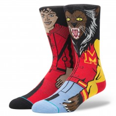 Stance Michael Jackson Socks - Red