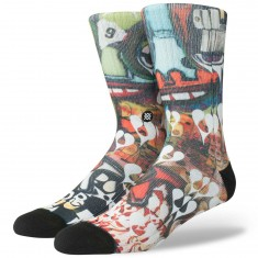 Stance Frost Heart Socks - Multi
