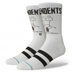 Stance X Descendents Milo Goes To College Socks - White