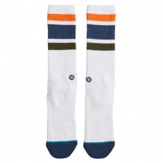 Stance Downhill M Socks - White