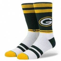 Stance Green Bay Sideline Socks - Green