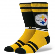 Stance Steelers Sideline Socks - Yellow