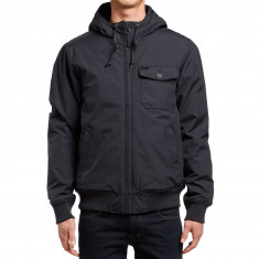 RVCA Bus Stop Bomber Jacket - Black