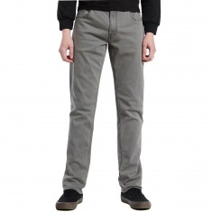 RVCA Daggers Denim Pants - Peroxide Grey