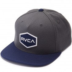 RVCA Commonwealth Snapback Hat - Dark Grey