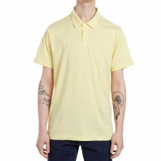RVCA Sure Thing II Polo Shirt - Lemonade