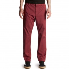 RVCA Weekend Stretch Pants - Rosewood