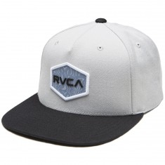 RVCA Commonwealth Snapback Hat - Light Grey