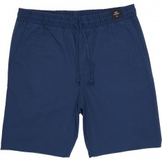 RVCA Dayshift Elastic Shorts - Dark Denim