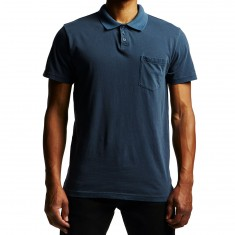 RVCA PTC Pigment Polo Shirt - Federal Blue
