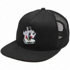 RVCA Cold Soul Trucker Hat - Black