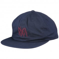 RVCA Local Time Snapback Hat - Blue