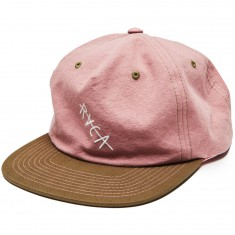 RVCA Washed Snapback Hat - Pink