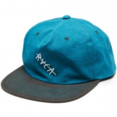 RVCA Washed Snapback Hat - Teal