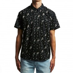 RVCA Dark Floral Shirt - Black