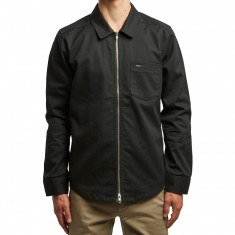 RVCA Hex Long Sleeve Shirt - Black