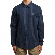 RVCA Long Shirt - Federal Blue