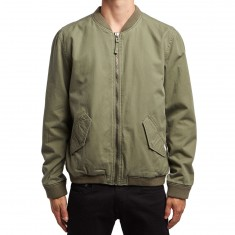 RVCA All City Bomber Jacket - Burnt Olive