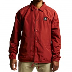RVCA VA All The Way Coach Jacket - Rosewood
