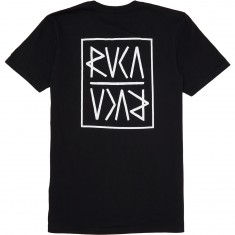 RVCA Flip RVCA T-Shirt - Black/White
