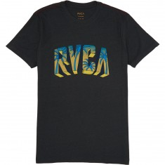 RVCA Block RVCA T-Shirt - Pirate Black