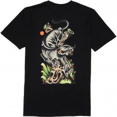 RVCA Bert Panther T-Shirt - Black