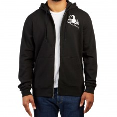 RVCA In My Own World Zip Hoodie - Black
