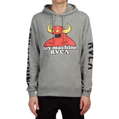 RVCA x Toy Machine Hoodie - Athletic