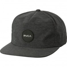 RVCA Motor Delux Snapback Hat - Charcoal Heather