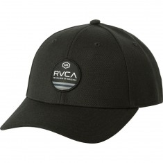 RVCA Machine Snapback Hat - Black