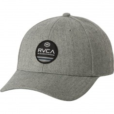 RVCA Machine Snapback Hat - Heather Grey