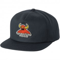 RVCA x Toy Machine Snapback Hat - Navy