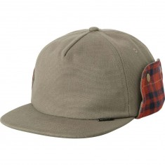 RVCA x Toy Machine Trooper Hat - Dark Khaki