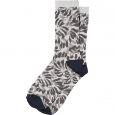 RVCA Brong Socks - Heather Grey