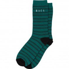 RVCA Harper Socks - Teal Green