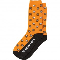 RVCA x Toy Machine Socks - Orange