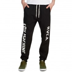 RVCA x Toy Machine Sweatpant - Black