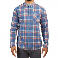 RVCA Kl Plaid Longsleeve Shirt - Multi