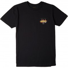 RVCA Log Life T-Shirt - Black