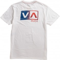 RVCA Glitch Box T-Shirt - Antique White