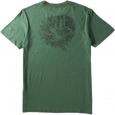 RVCA Tropic Doom T-Shirt - Green Ivy