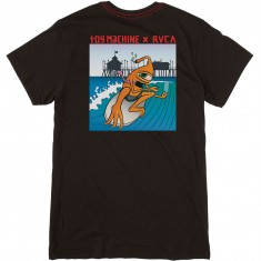 RVCA x Toy Machine Surfer Sect T-Shirt - Black