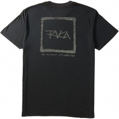 RVCA Scrawl Burnout T-Shirt - Pirate Black