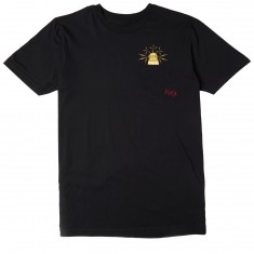 RVCA x Toy Machine Pocket T-Shirt - Black
